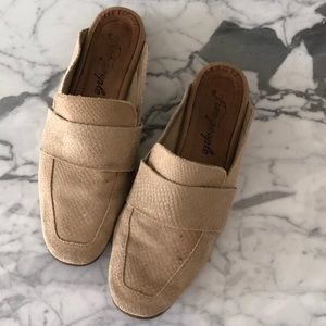 Free People 'At Ease' Mules sz 37 1/2 (US 7 1/2)